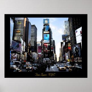 Times Square - impressão de N.Y.C. Poster