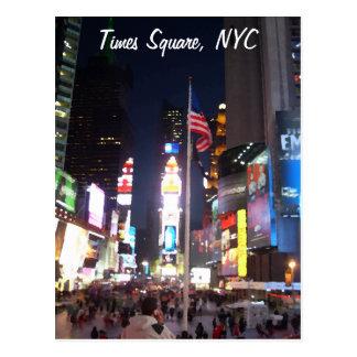 """""""Times Square, Nova Iorque, EUA"""" CricketDiane A Cartao Postal"""