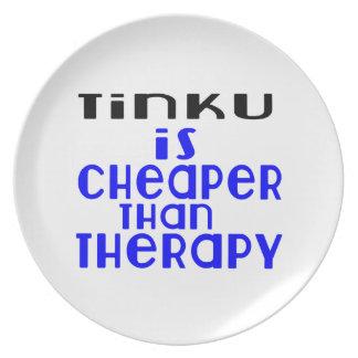 Tinku é mais barato do que a terapia prato de festa