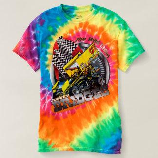 Tintura t do laço das pontes de Johnny Camiseta