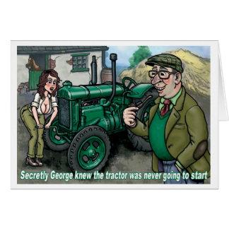 Tio George 1 do cartão do trator