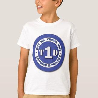 Tipo - 1 diabetes - eu sou uma camisa do
