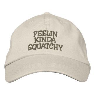 TIPO bordado de FEELIN do chapéu de SQUATCHY - cha Boné Bordado