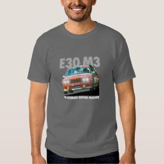 Tipo branco do piloto de BMW E30 M3 DTM (Bastos) T-shirt