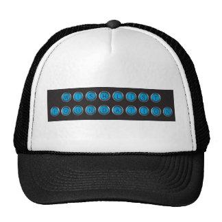 Tipo chapéu do Backspacer de Wishlist do camionist Boné