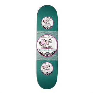 Tipo da plataforma do skate: MANUAL RABBITHOLE DO Shape De Skate 19,7cm