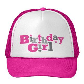 Tipo de flutuação chapéu da menina do aniversário boné