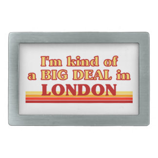 Tipo de I´m de uma grande coisa em Londres