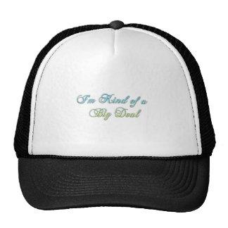 Tipo de I'm de um chapéu da grande coisa Boné