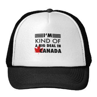 Tipo de I'm de uma grande coisa em Canadá Boné