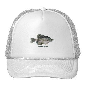 Tipo de peixe preto (intitulado) boné