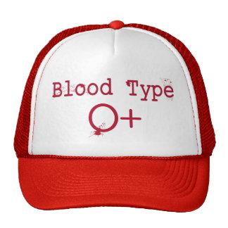 Tipo de sangue positivo de O Boné