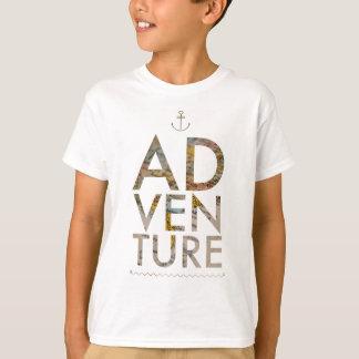 Tipografia da AVENTURA Camiseta