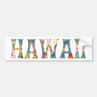 Tipografia de PixDezines Havaí Tiki Adesivo Para Carro