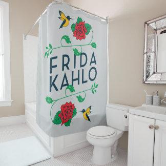 Tipografia floral de Frida Kahlo | Cortina Para Box