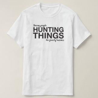 Tipografia sobrenatural camiseta