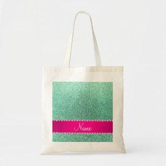 Tira conhecida personalizada do rosa do brilho do bolsa para compra