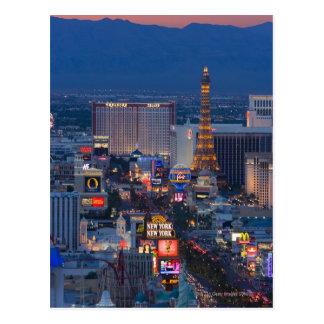 Tira de Las Vegas Cartão Postal