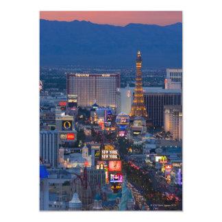 Tira de Las Vegas Convite 12.7 X 17.78cm