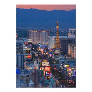 Tira de Las Vegas Convites Personalizado