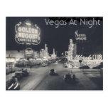 Tira de Las Vegas do vintage Cartão Postal