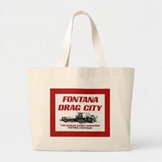 Tira do arrasto de Fontana Bolsas De Lona
