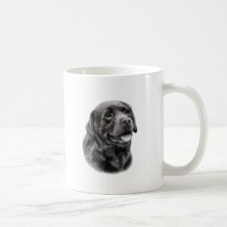 Tiragem de labrador retriever caneca de café