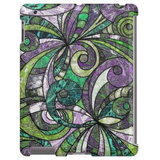 tiragem do iPad mal lá floral Capa Para iPad