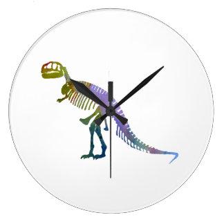 Tiranossauro Rex Relógio De Parede