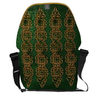 Tiras celtas do nó bolsas mensageiro