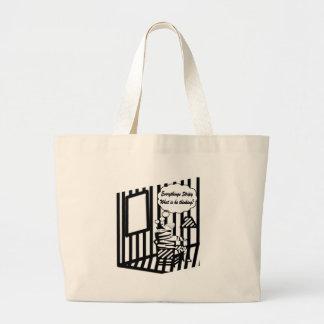 Tiras de amor bolsa para compras