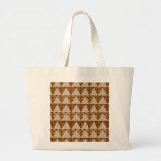TIRAS DOURADAS do triângulo: da arte do VINTAGE Bolsa