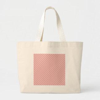 tiras vermelhas do rosa bolsa para compras