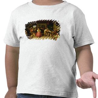 Tiro e dança do alvo em Oberbayern, 1841 T-shirts