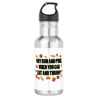 Tiro engraçado psto, presente da garrafa de água