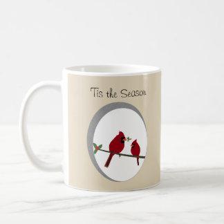 'Tis a caneca de café da estação
