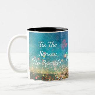 Tis a estação à caneca de café do chá do nome da