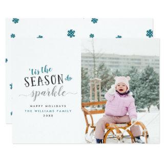 'Tis a estação aos cartões de Natal da foto da