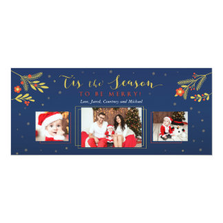 Tis a estação, cartão de cartões de natal