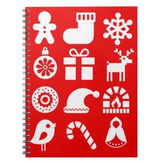 ''' Tis o caderno espiral do Natal da estação