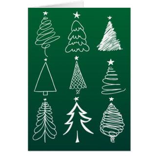 Tis o cartão de Natal da estação