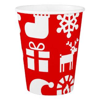 ''' Tis o copo de papel do Natal da estação