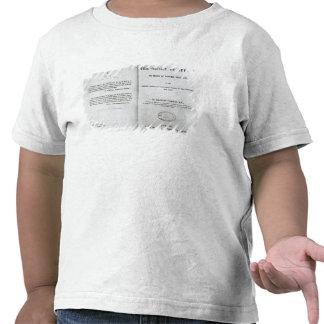 Titlepage a 'na origem das espécies t-shirt
