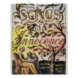 Titlepage 'das canções da inocência e de Experien Impressão