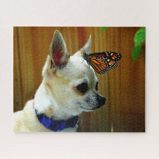 Tito e seu quebra-cabeça do monarca
