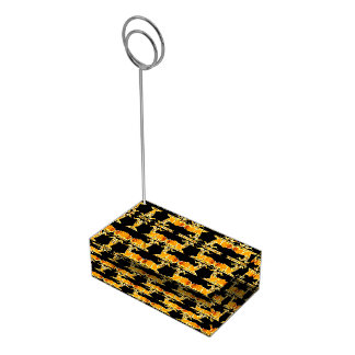 Titular do cartão decorativo da mesa do teste suportes para cartões de mesas
