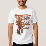 Título da liberdade: Livro da história do Mormon Camisetas