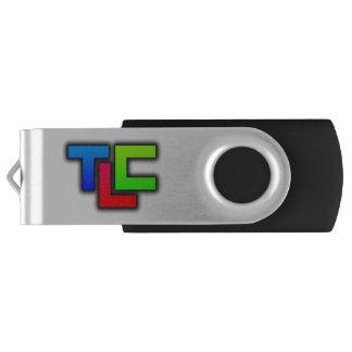 TLC - cilindro de tabaco de USB Pen Drive Giratório
