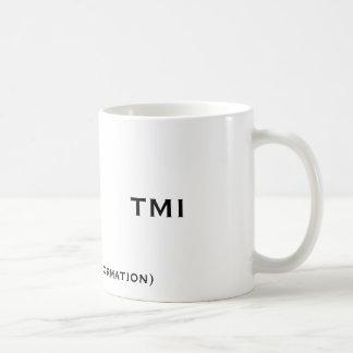 TMI, (demasiada informação), TMI Caneca De Café