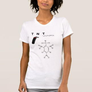 TNT - sendo explosivo T-shirts